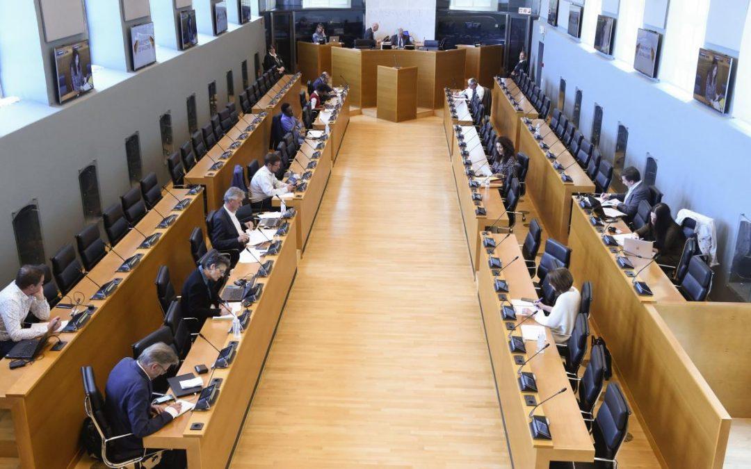 Commission Spéciale COVID-19 : Audition de la Ministre de la santé en Région Wallonne
